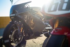 Shakedown test at Willow Springs